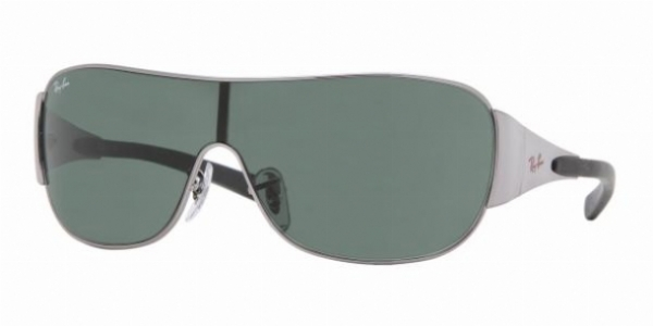 Ray ban 3190 gunmetal sunglasses