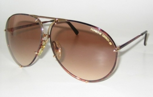 brown gradient/tortoise shell gold