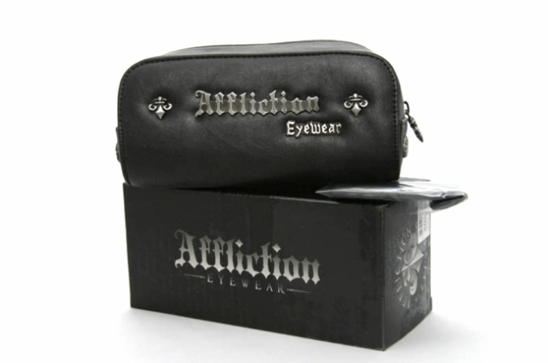 AFFLICTION BLADE GUNMETALBLACK