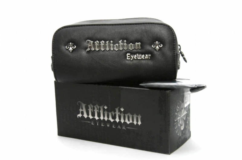 AFFLICTION GRIFFIN SILVERBLACK