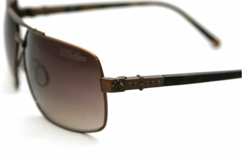 AFFLICTION MAC TORTOISECOCOA