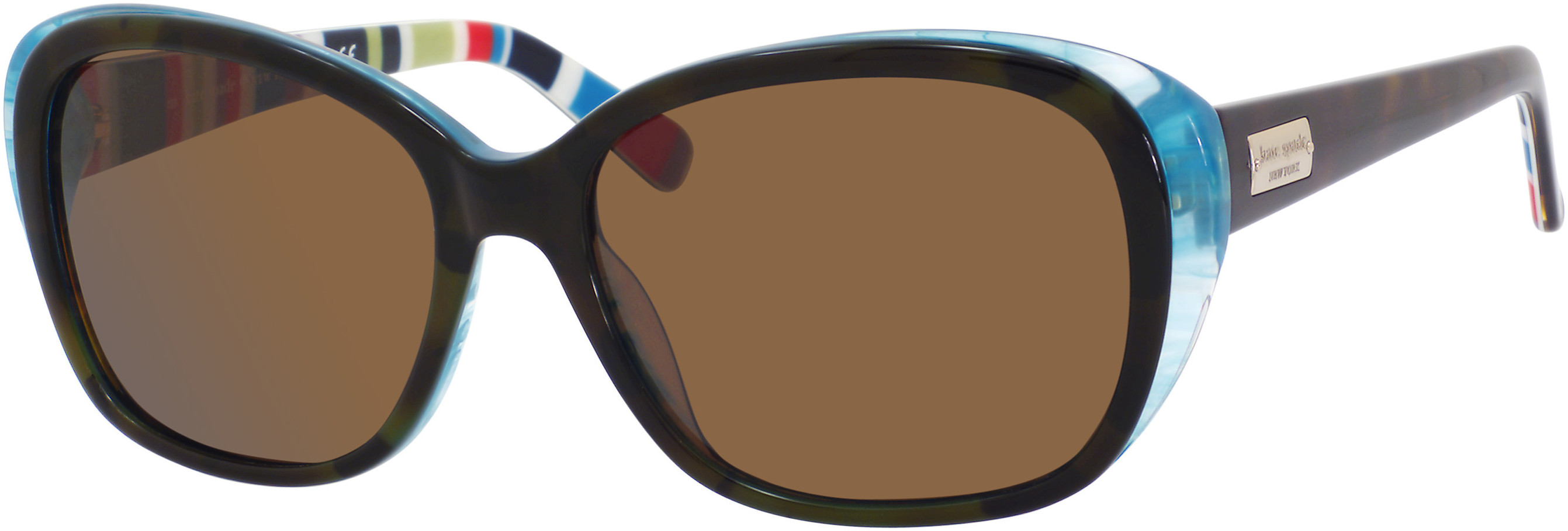 brown polarized/olive tortoise turquoise r