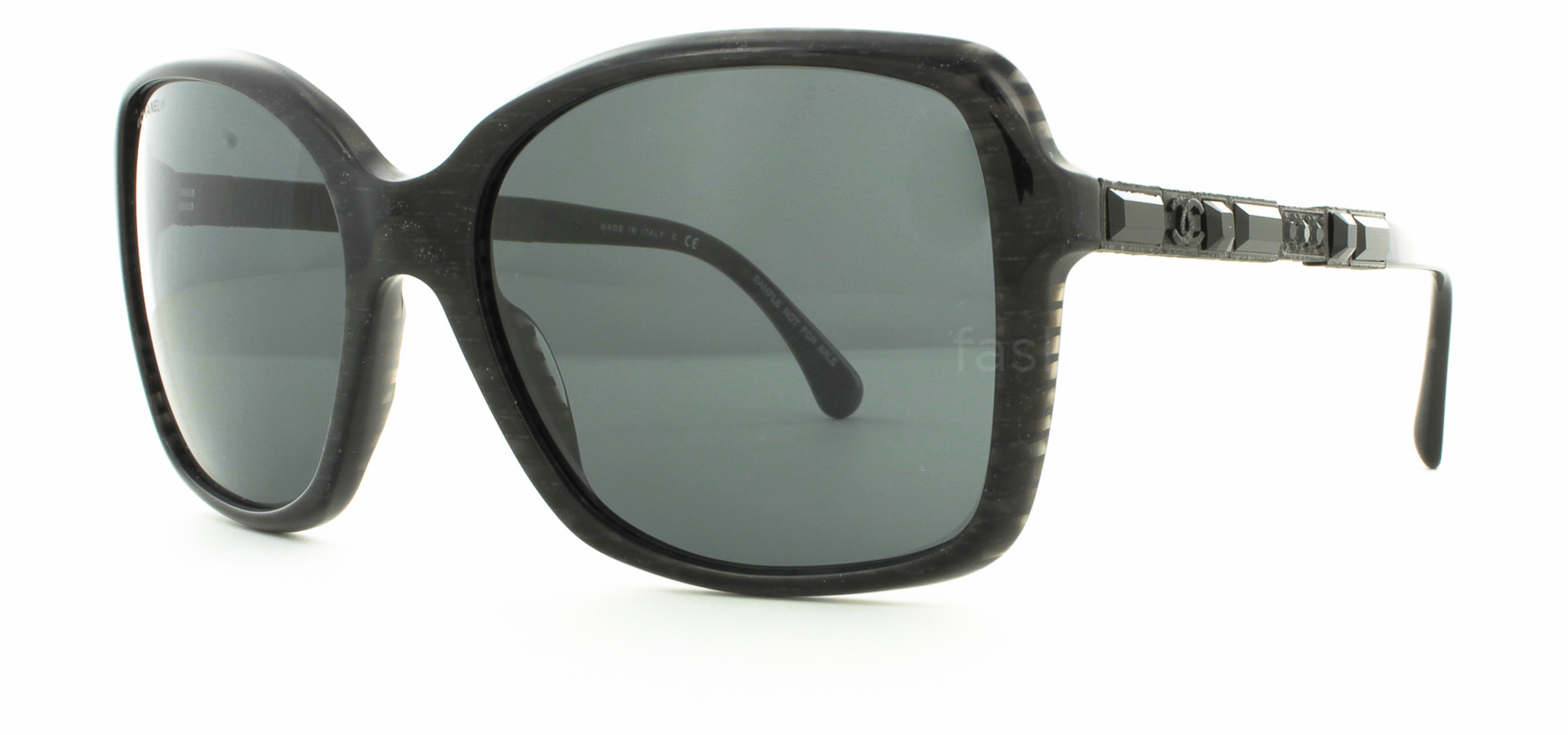 Pin chanel shades ch 6023 50187 dark grayshiny black for Decor my eyes